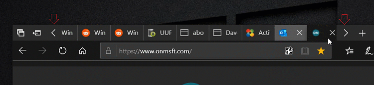 Latest Google Chrome released for Windows-scrollable-buttons-edited.png