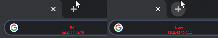 Latest Google Chrome released for Windows-ntp-button-vs-stable.png