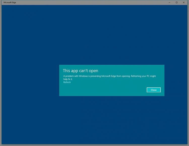 Microsoft Edge Browser \