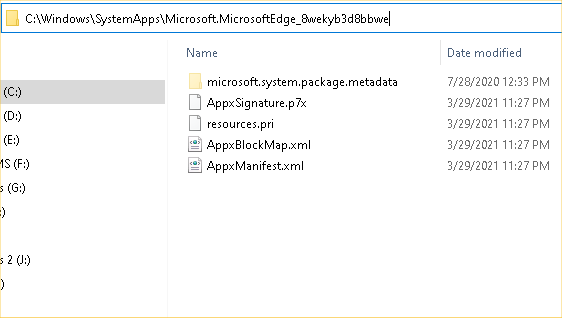 Interesting quirk with Start -> Apps listing of Microsoft Edge-image1.png