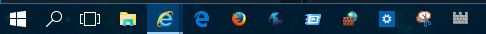 Click image for larger version.  Name:Icons on task bar.JPG Views:28 Size:11.9 KB ID:32619