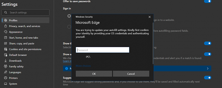 Latest Microsoft Edge released for Windows-requiere-authentication-windows-security-33.png