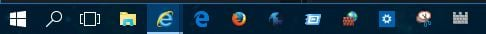 Click image for larger version.  Name:Icons on task bar.JPG Views:39 Size:11.9 KB ID:33024