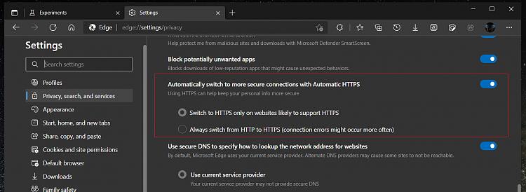 Latest Microsoft Edge released for Windows-https-settings.png