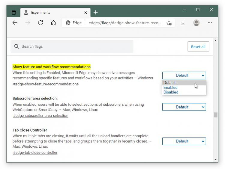 Latest Microsoft Edge released for Windows-what-default.jpg