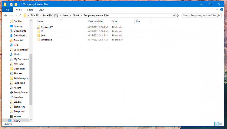 How to force delete IE11 cache manually without 3rd party cleaner app-untitled.png