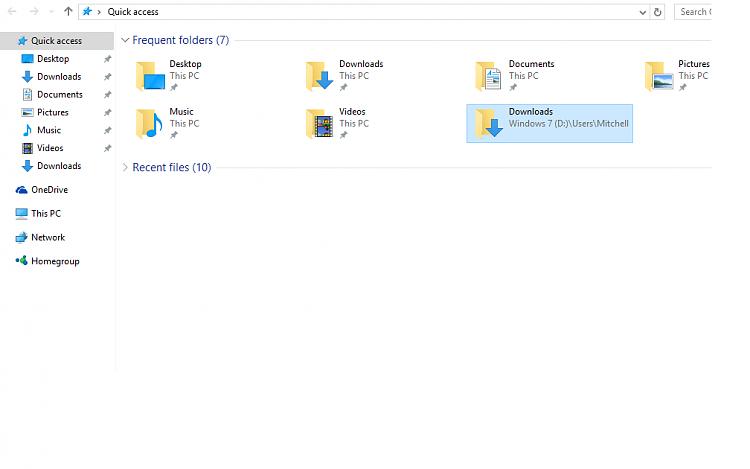 Change download location - Windows 10 Forums