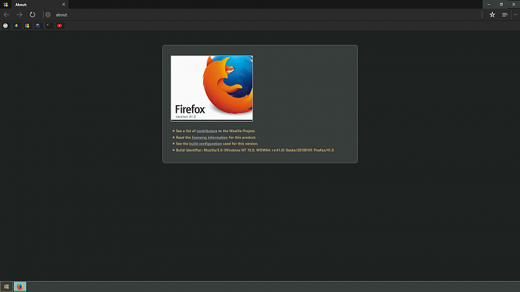 Mozilla Firefox 40 0 + Windows 10 - Page 7 - Windows 10 Forums