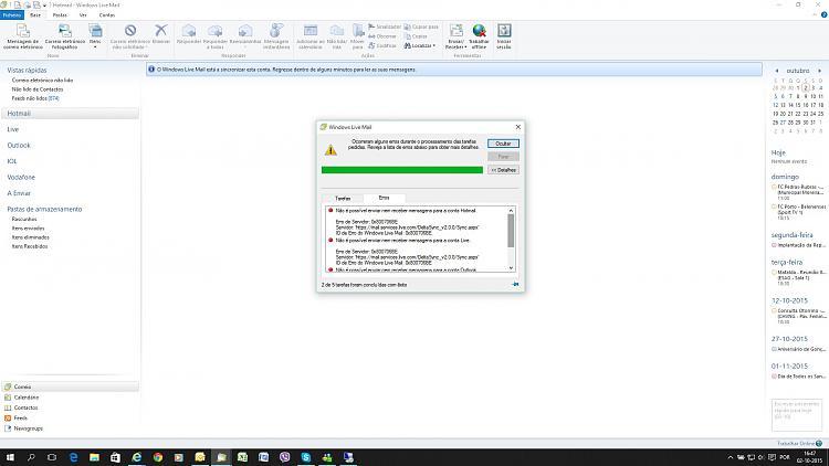 Click image for larger version.  Name:WLM Error after KB3093266.jpg Views:10 Size:273.9 KB ID:40669