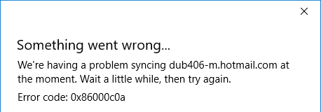 Mail app does not sync messages automatically-error-0x86000c0a.png