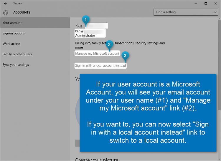 how to change users name in windows 10