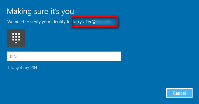 Asks For Pin When Adding A Different Hotmail Account To The Mail App Solved Windows 10 Forums Do you get the same behaviour trying wamcom mozilla 1.3.1? asks for pin when adding a different