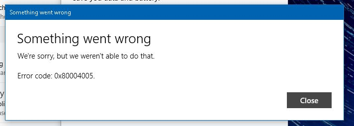 Windows 10 Mail app wont access my mail and wont let me delete