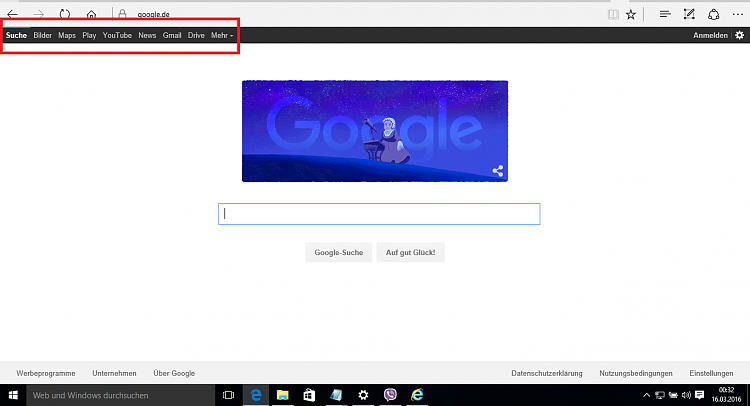 Anyone else getting that old Google bar when visiting a Google site ..-screenshot-645-.png