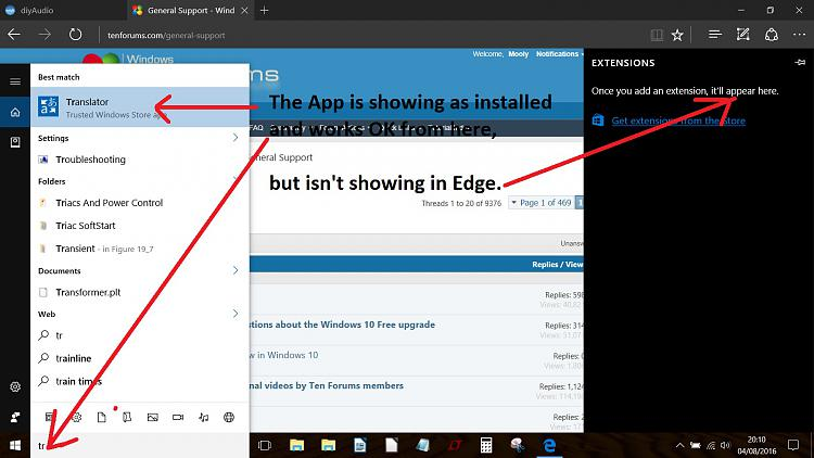 Edge and adding an extension. Is this correct ?-translate.jpg