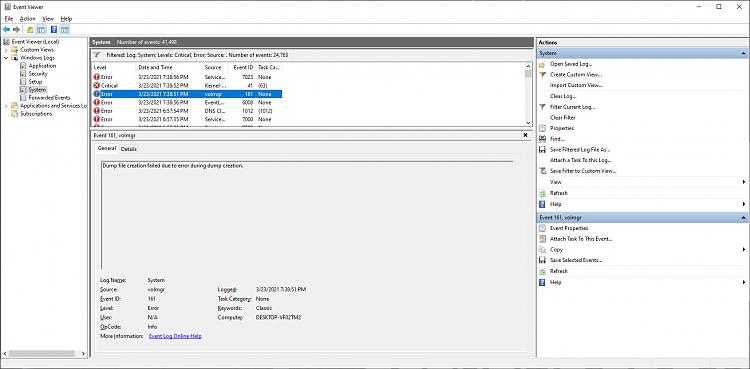 BSOD WHEA_UNCORRECTABLE_ERROR randomly while gaming - No error logs-log1.png