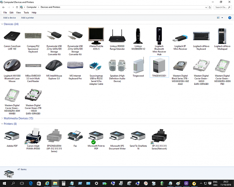 Click image for larger version.  Name:Devices & Printers - 11.11.16.png Views:10 Size:321.1 KB ID:105496