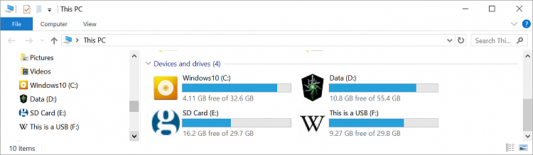 Why are my Drive icons not working with Autorun inf Solved