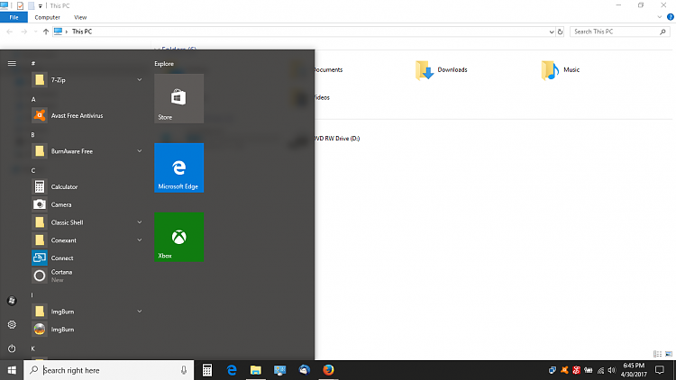 """trying to get the """"old style"""" Windows 10 start menu-screenshot-9-.png"""