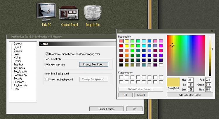 Superb How Do I Change The Desktop Font Color In Windows 10 Home Interior And Landscaping Ymoonbapapsignezvosmurscom