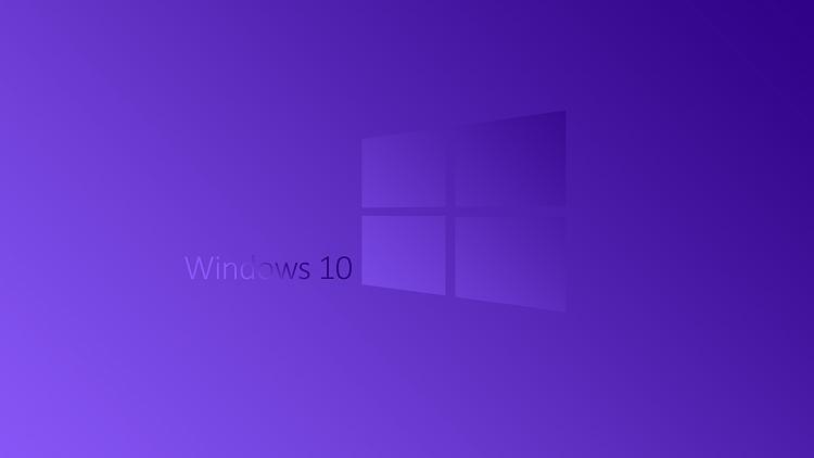 Windows 10 Purple Wallpaper - Windows 10 Forums