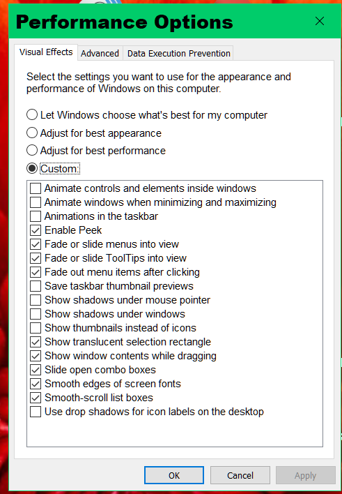 Click image for larger version.  Name:Win10 Performance Options.png Views:9 Size:61.7 KB ID:153341