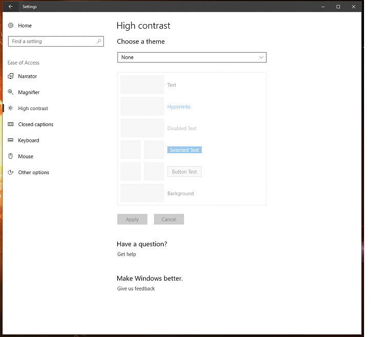 How to Reset Windows 10 Theme to Default-ease-access.png