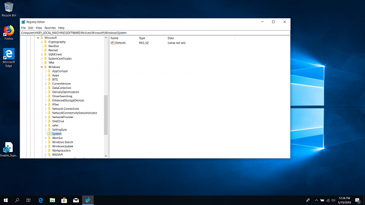 After 1803 update can't set sign-in screen Solved - Windows
