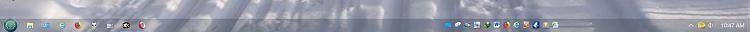 Click image for larger version.  Name:Taskbar with Classic Shell.JPG Views:5 Size:24.6 KB ID:196821