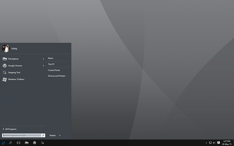 Classic Shell on Win 10 - Twice the Fun!-desktop.png