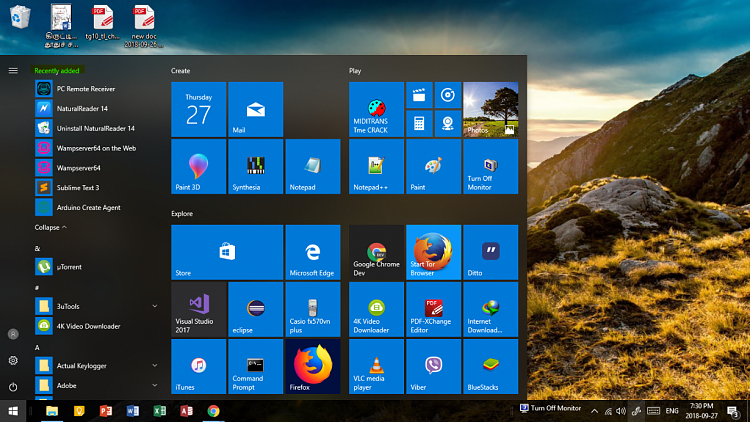 Preventing Recently Added apps on Start Menu from Auto Deletion