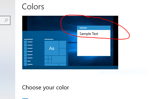 Accent color bug  in 1809 and how to set title bar color manually-not-obeying.png