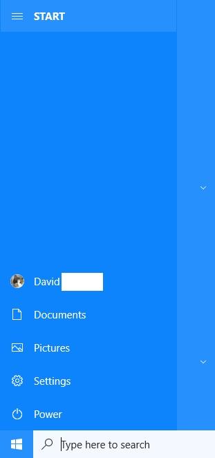 Click image for larger version.  Name:Start menu left side.jpg Views:22 Size:27.2 KB ID:221293