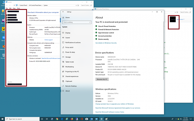 Dark context menu when right clicking desktop, folders and