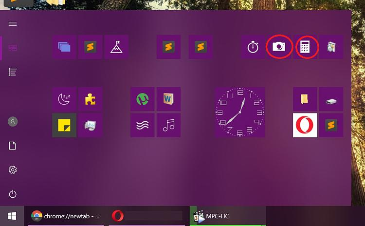 changing app icons windows 10