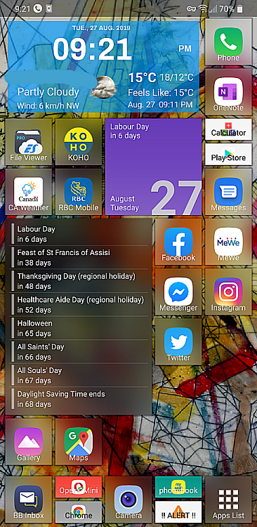 Make Android phone look like Windows - Windows 10 Forums
