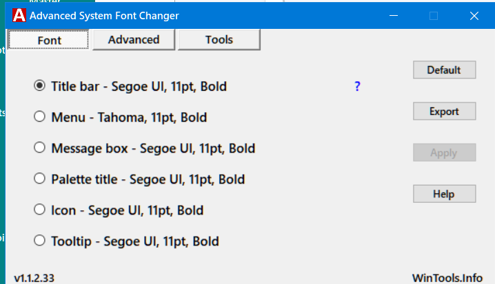 Changing the Color of the Context Menu & it's Font-image.png