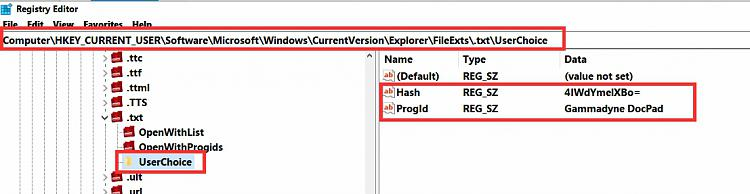 Setting Notepad++ as default text editor requires changing a reg key-registry-editor.jpg