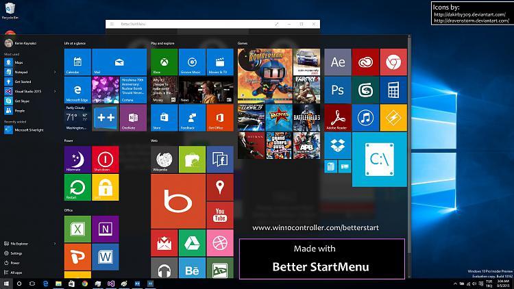 Click image for larger version.  Name:screen_startmenu.jpg Views:77 Size:411.1 KB ID:28901