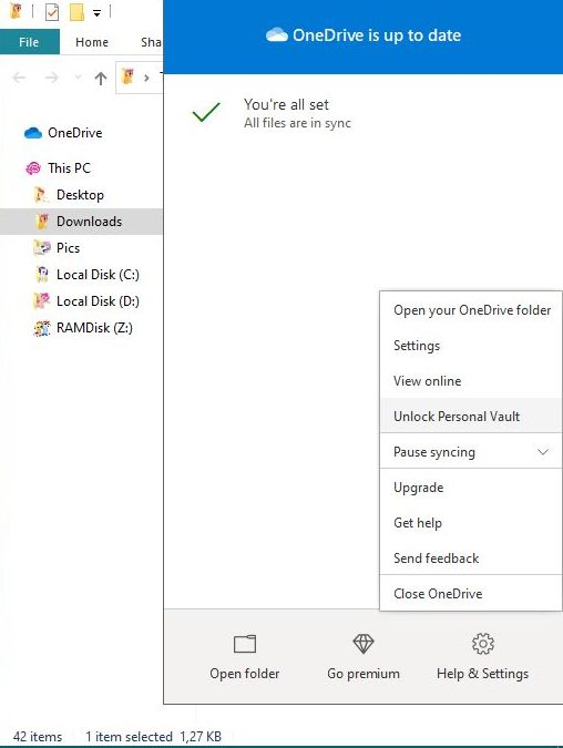 Is it possible to fix the annoying red x on OneDrive's icon?-capture_09052020_124144.jpg