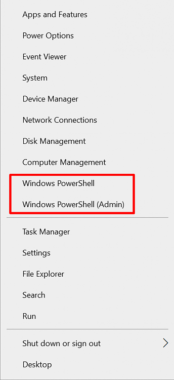 "Replace ""Windows Powershell"" with ""Windows Terminal"" in Start Menu?-startmenuctx.png"