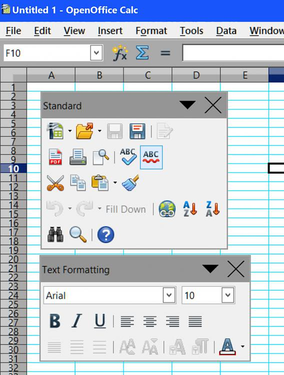 Click image for larger version.  Name:Toolbars - Open Office 4.jpg Views:1 Size:168.1 KB ID:32525