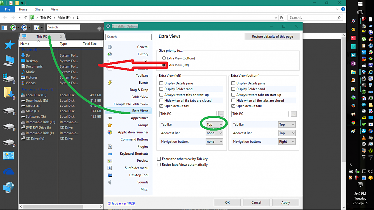 how to change page background in win 10