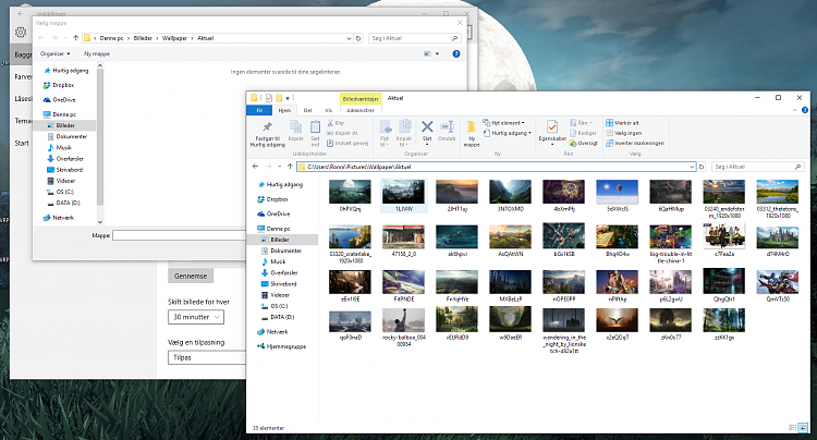 Problem With The Wallpaper Slideshow Windows 10 Solved Windows 10 Forums