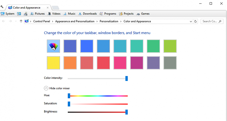 How do I change Minimize, Maximize, and Close colors in Windows 10-white.png