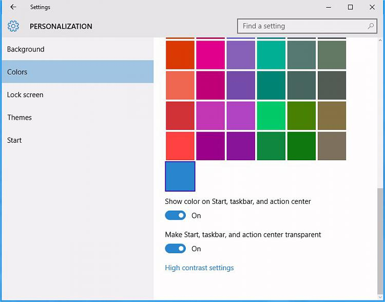 Click image for larger version.  Name:Personalization, color Windows 10.jpg Views:4 Size:47.1 KB ID:43572
