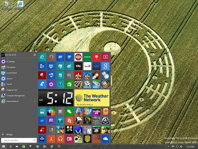 how to make windows 10 start menu larger