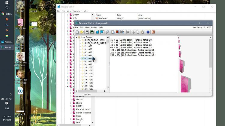how to change default folder icon windows 10