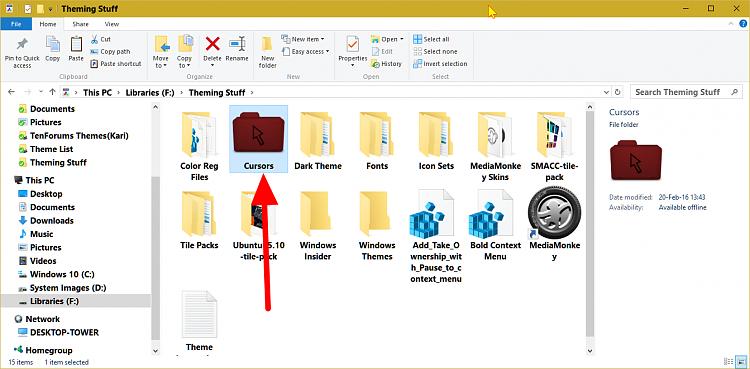 Custom Cursors Page 4 Windows 10 Forums