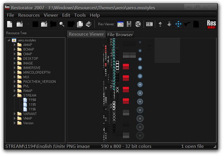Click image for larger version.  Name:Restorator 2007 - FWindowsResourcesThemesaeroaero.msstyles.png Views:1 Size:60.4 KB ID:78436